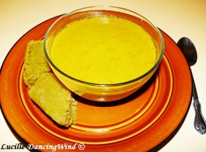 pea soup cornbread dinner signed