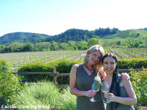 Cali vineyard wine tasting